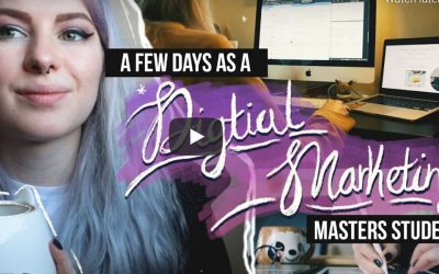 STUDYING DIGITAL MARKETING VLOG – What being a Digital Marketing Masters student is REALLY like in 2021